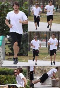 Ashton Kutcher: na cola de Demi