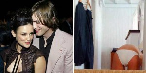 Ashton Kutcher posta foto desfavorável de Demi Moore