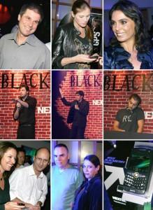 Nextel arma festa em comemoração à chegada do novo aparelho BlackBerry