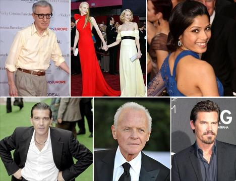 Nicole Kidman, Naomi Watts, Freida Pinto, Antonio Banderas, Anthony Hopkins e Josh Brolin: o casting estrelado de Woody Allen