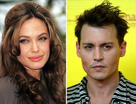 Angelina Jolie e Johnny Depp: os favoritos
