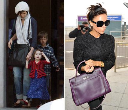 Katie Holmes com Suri e os filhos de David e Victoria Beckham e a mãe dos pequenos: na hora em que a sogra não topa...