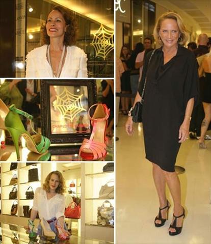 Andrea Dellal, Charlotte Dellal e suas criações e Lenny Niemeyer: no Rio