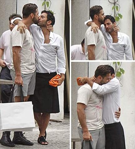Marc Jacobs e Lorenzo Martone no Rio: só love