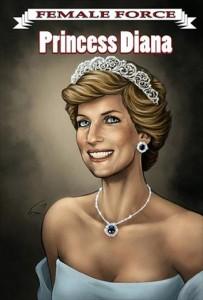 """Princesa Diana é eleita para a série de biografias em quadrinhos """"Female Force"""""""