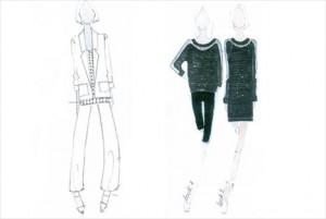 Gwyneth Paltrow desenha os croquis de sua nova linha