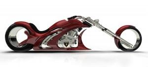 Flavio Adriani criou a moto conceito Lamborbiker