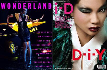 """Capas da """"Wonderland"""" e """"i-D"""": aguardadas"""