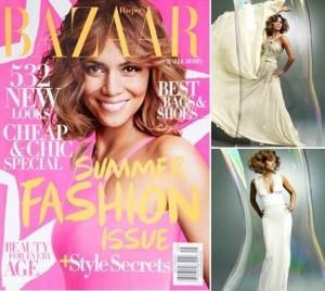 "Halle Berry abre o jogo para revista americana ""Bazaar"""