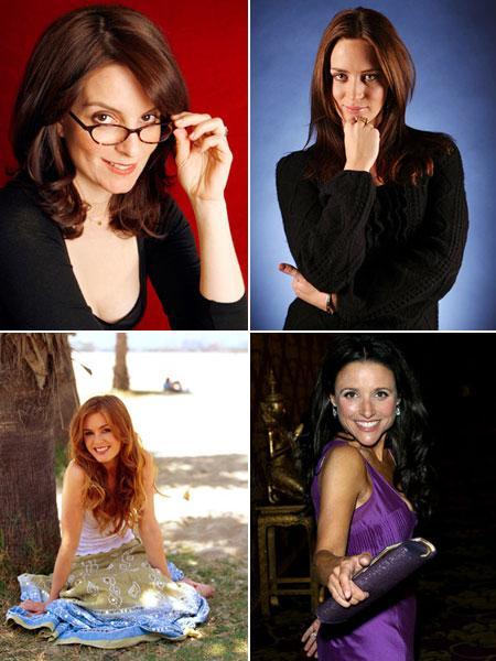 Tina Fey, Emily Blunt, Isla Fisher e Julia Louis-Dreyfus: cheias de graça