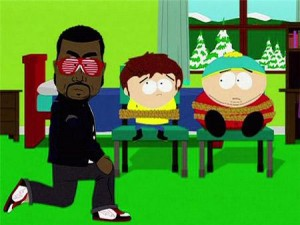 """Kanye West se diverte com sua participação em """"South Park"""""""