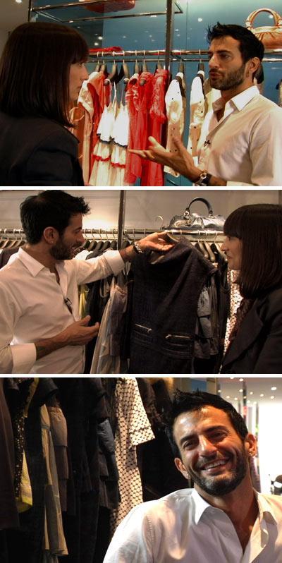 Maria Prata entrevista Marc Jacobs para a Fashion TV: no ar, logo mais à noite