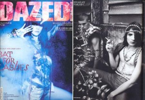 "Peças de Raphael Falci integram editorial da ""Dazed & Confused"""
