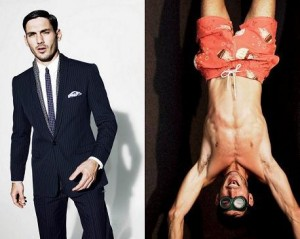 Andrija Bikic, ex de Ivete Sangalo, faz sucesso no mundo fashion