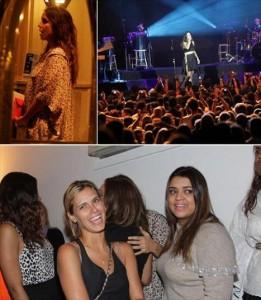 Ivete Sangalo faz show no Rio após anunciar gravidez