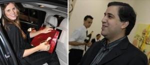 Maythe Birman chega a bordo do lançamento Série 7 da BMW