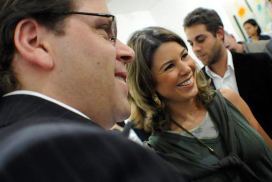Marcelo e Daniela Beyruti: papais de primeira viagem