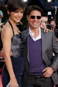 Katie Holmes e Tom Cruise: briga em casa