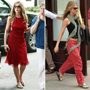 Jennifer Aniston é obcecada por havaianas