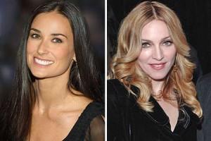Demi Moore quer que namoro de Madonna com Jesus Luz dê certo
