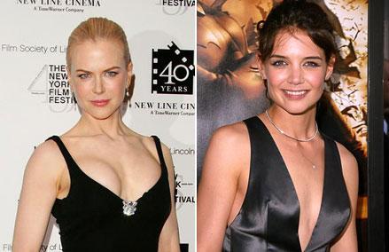 Nicole Kidman e Katie Holmes: passa ou repassa