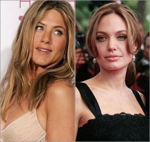 Com quem você deixaria seus filhos: Jen Aniston ou Angelina Jolie?