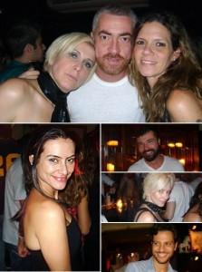 Helena Lunardelli comemora aniversário no Bar Secreto em São Paulo
