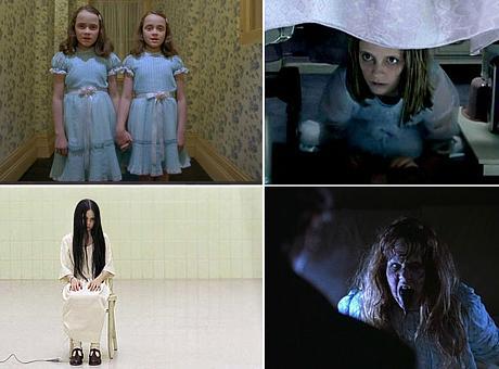 """""""O Iluminado"""", """"O Sexto Sentido"""", """"O Chamado"""" e """"O Exorcista"""": brincadeira de criança?"""