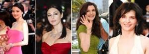 Turma de estreladas aposta no brilho das joias no Festival de Cannes