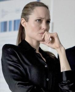 Angelina Jolie na Holanda