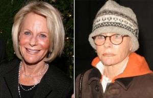 Mulher de Bernie Madoff perde a paciência com fotógrafos