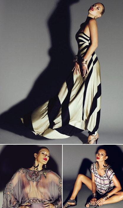 Kate Moss para Topshop: transparência