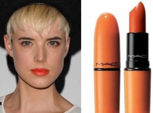 Glamurama aposta em laranja como o tom de inverno para batons