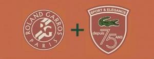 Lacoste lança linha limitada inspirada na parceria com o torneio de Roland Garros