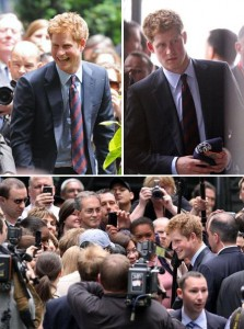 Príncipe Harry faz primeira visita oficial a Nova York