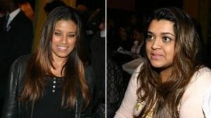 Preta Gil, Ildi Silva, Felipe Simão e Marina Morena estavam no maior papo no lounge da Nívea aqui no Fashion Rio