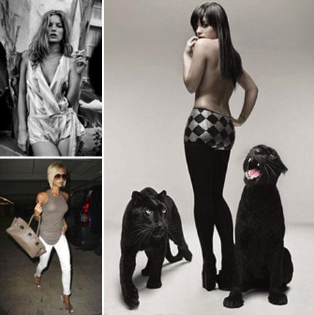 Kate Moss, Lily Allen e Victoria Beckham: as feias que me perdoem, mas...