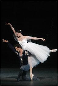 Cena do ballet Giselle