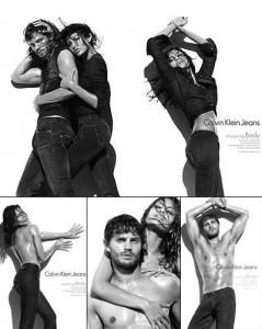 Eva Mendes estrela nova campanha da Calvin Klein