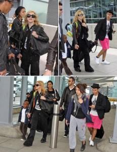 Madonna desembarca em Londres