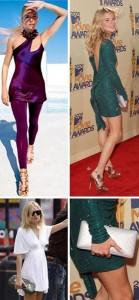 Sienna Miller insatisfeita com o próprio corpo