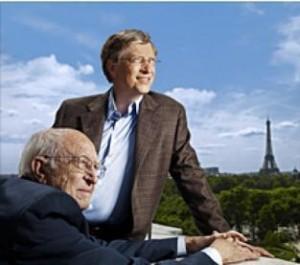 Adivinha quem é o maior conselheiro de Bill Gates…