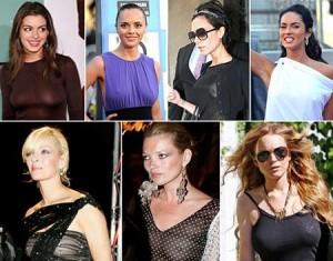 Nova moda é não usar sutiã