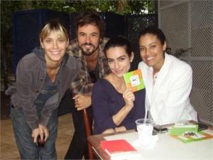 Gamurama conferiu o bazar de Cleo Pires no Rio