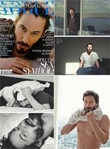 Keanu Reeves finalmente fala sobre si próprio.