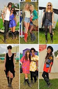 As botas Hunter ainda estão nos pés dos fashionistas