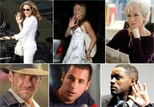 """Lista da """"Forbes"""" mostra os atores mais ricos de Hollywood"""