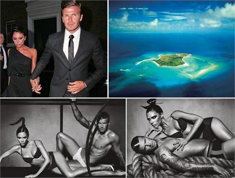 David e Victoria Beckham: juntos em vários momentos