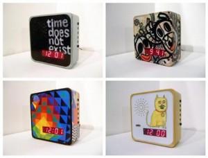 Relógios customizados por artistas