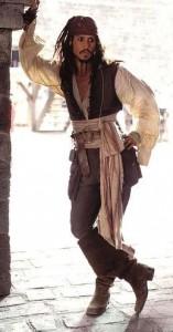 Johnny Depp faz uma boa ação.